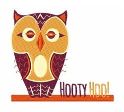 Hooty Hoo embroidery design