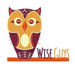 Wise Guys embroidery design