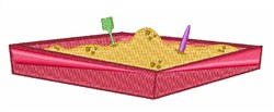 Sand Box embroidery design