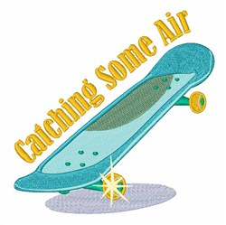Catching Air embroidery design