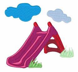 Playground Slide embroidery design