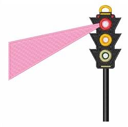 Traffic Light embroidery design