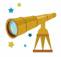 Telescope embroidery design