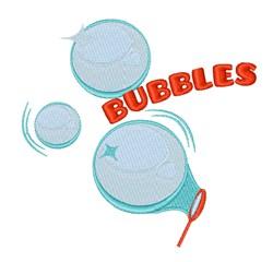 Bubbles embroidery design