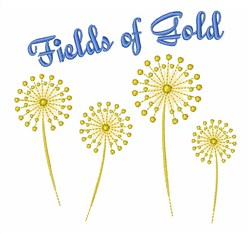 Fields Of Gold embroidery design