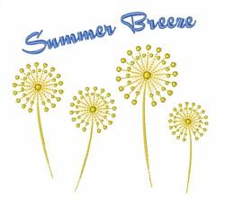 Summer Breeze embroidery design