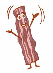 Strip Of Bacon embroidery design