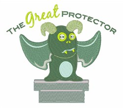 Great Protector embroidery design