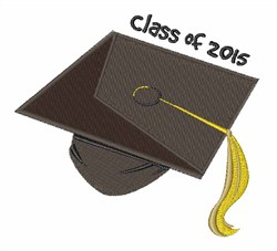 Class of 2015 embroidery design