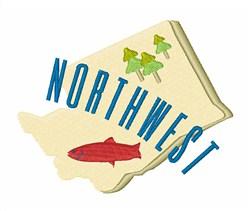 Northwest embroidery design