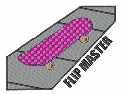 Flip Master embroidery design