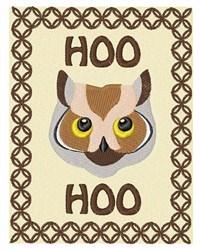 Hoo Hoo embroidery design