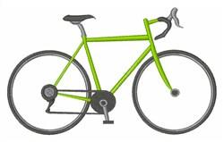 Ten Speed Bike embroidery design
