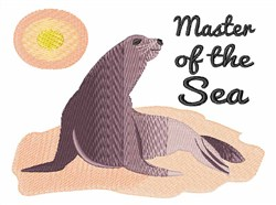 Master of the Sea embroidery design