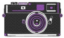Shutter Camera embroidery design