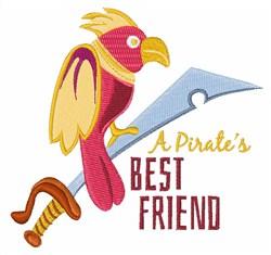 Pirates Best Friend embroidery design