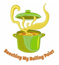 Boiling Point embroidery design