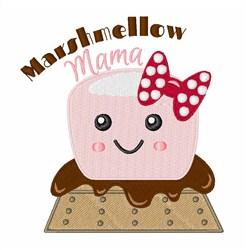 Marshmellow Mama embroidery design