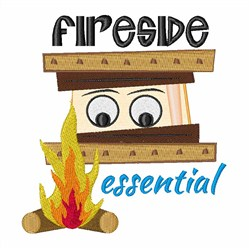Fireside Essential embroidery design