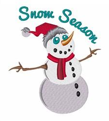 Snow Season embroidery design