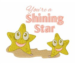 Shining Star embroidery design