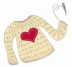 Make A Sweater embroidery design