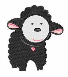 The Black Sheep embroidery design