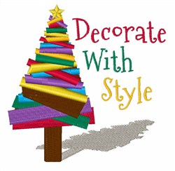 Decorate With Style embroidery design