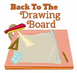 Drawing Board embroidery design