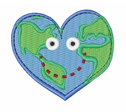 Happy World embroidery design