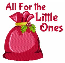 For Little Ones embroidery design