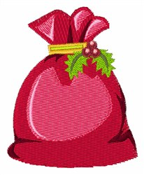 Gift Sack embroidery design