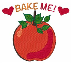Bake Me embroidery design