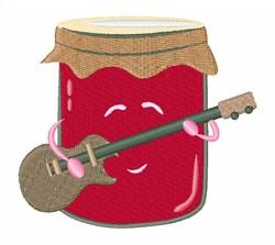 Jam Music embroidery design