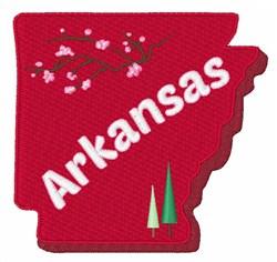 Arkansas embroidery design