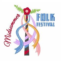 Folk Festival embroidery design