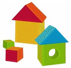 Building Block embroidery design