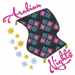 Arabian Nights embroidery design