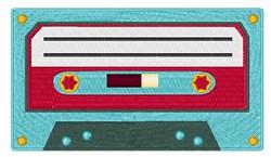 Cassette Tape embroidery design