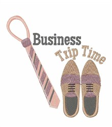 Business Trip embroidery design