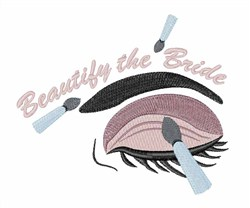 Beautify The Bride embroidery design
