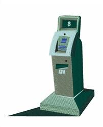 ATM Machine embroidery design