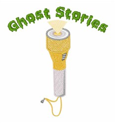 Ghost Stories embroidery design