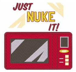 Just Nuke It embroidery design
