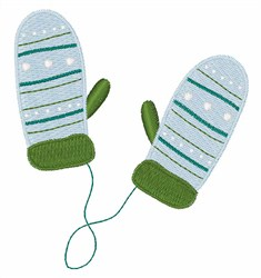 Warm & Cozy Mittens embroidery design