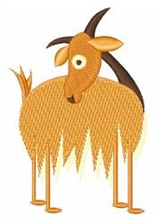 Gruff Goat embroidery design