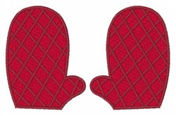 Oven Mitt embroidery design