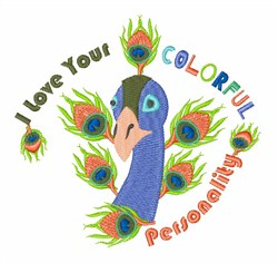 Colorful Personality embroidery design