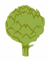 Artichoke Hearts embroidery design