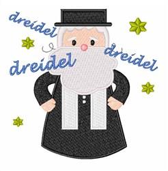 Spin The Dreidel embroidery design